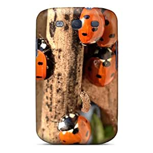 New TtzCh4330EqoDV Ladybugs Skin Case Cover Shatterproof Case For Galaxy S3