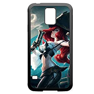 MissFortune-001 League of Legends LoL For Case Iphone 5C Cover - Hard Black