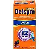 Delsym Children's Cough Suppressant Liquid, Grape Flavor, 5 Ounce (Pack of 9)
