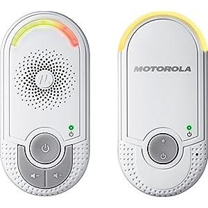 Motorola MBP 8 - Babyphone Audio prise murale - Blanc
