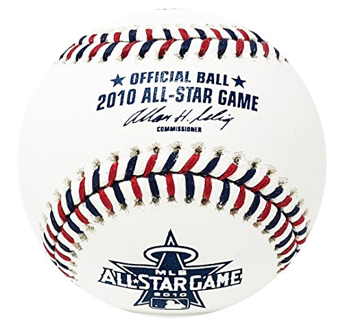 2010 All Star Baseball Ball - Rawlings 2010 All Star Official MLB Game Baseball Los Angeles Angels - Boxed