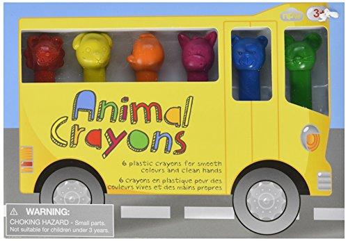 NPW-USA Animal Crayons (6 Pack)