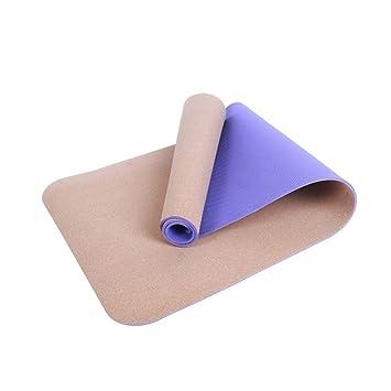 LETAMG Yogamatte 5 Mm Anti Skid Natürliche TPE Cork Marke ...