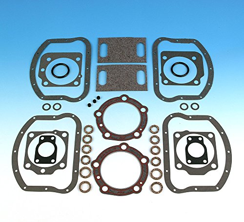 James Gasket Top End Gasket Kit with Thick and Thin Pan Cover Gaskets JGI-17034-48