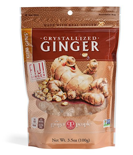 (The Ginger People Crystallized Ginger, 3.5-Ounce Bags (Pack of 24))