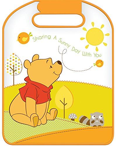 Rücklehnenschutz Disney Winnie The Pooh Schutzmatte für Rückseite Sitzschoner SEVEN