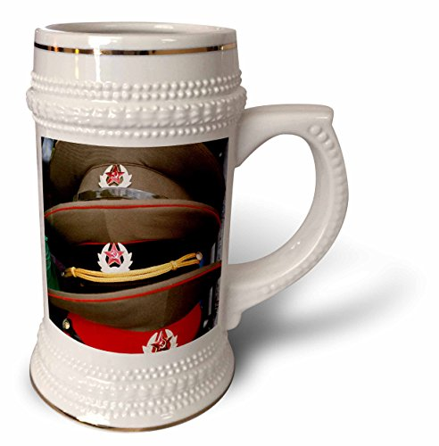 Danita Delimont - Poland - Military hats, Anniversary Stadium, WARSAW. Poland - EU22 PRI0021 - Prisma - 22oz Stein Mug (stn_82464_1)