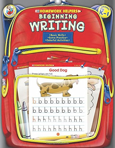Beginning Writing, Grades PK - 1 (Homework (Writing Helpers)