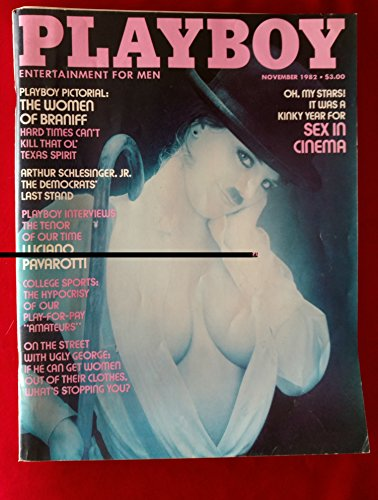 Playboy Magazine - November 1982 - Women of Braniff