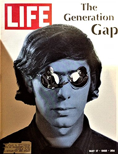 LIFE  Magazine - May 17, 1968 -- Cover: The Generation Gap