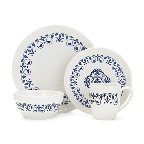 Pfaltzgraff Alina 16-Piece Dinnerware Set, Service for 4