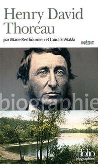 Henry David Thoreau par Marie Berthoumieu