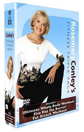0d11042982eb4 Rosemary Conley - Fitness Triple Pack  DVD   Amazon.co.uk  Rosemary ...