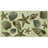 Classic Berber Accent Rug, Stain Resistant Rug, Skid Resistant, Beach Haven II, 40 x 22