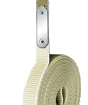 beige Komplettset mit 4,3 m Gurtband Austausch von defekten Rolladengurten ohne /Öffnen des Rolladenkastens Schellenberg 34301 Gurtfix Rolladengurt Reparaturset Maxi f/ür 23 mm Breite