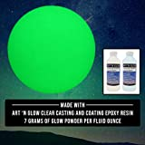 Glow in The Dark Pigment Powder - 12g - Neutral and