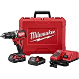 "Milwaukee 2702-22CT M18 ½"" Compact Brushless Hammer Drill/Driver Kit For Sale"