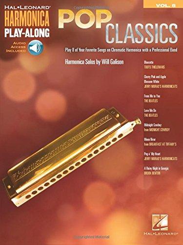 (Pop Classics: Harmonica Play-Along Volume 8 (Hal Leonard Harmonica Play-along))