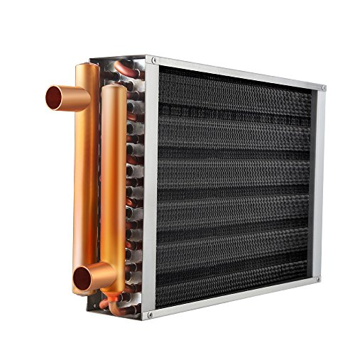 "Water to Air Heat Exchanger 22x24 1"" Copper Ports"