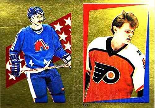 (CI) Michel Goulet, Per-Erik Eklund Hockey Card 1986-87 O-Pee-Chee Stickers 113-127 Michel Goulet, Per-Erik Eklund (1986 87 O Pee Chee Hockey Cards)