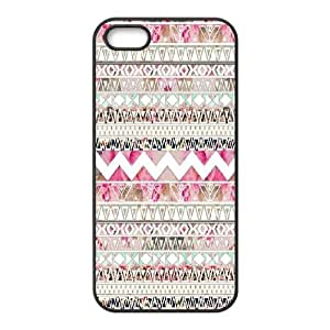 Customized Aztec Chevron Personalized Protective Cover Case for iPhone 5,5S