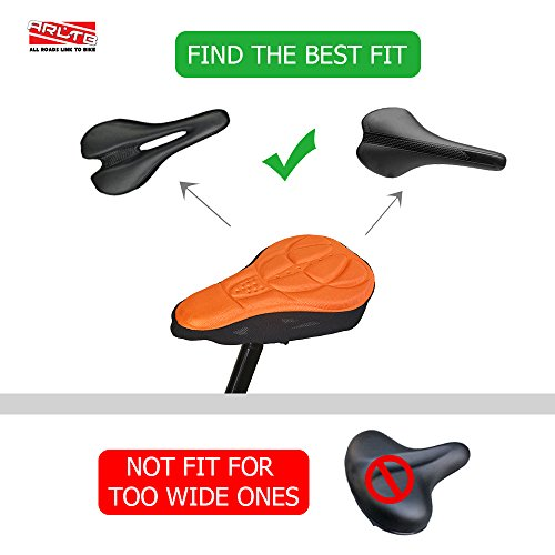 Gel Bicycle Seat Cover 4 Colors Bike Seats Saddle Cover Cushion