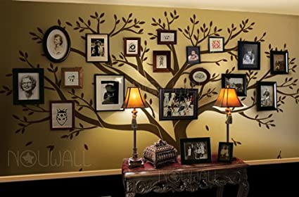 Family Tree Wall Sticker Inches 108 X 90