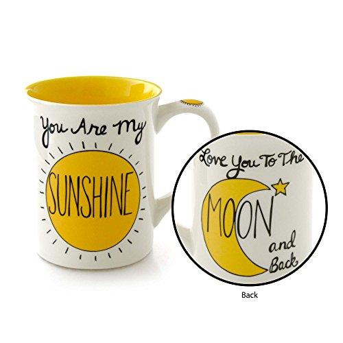 "Our Name is Mud ""You Are My Sunshine"" Stoneware Mug, 16 oz."