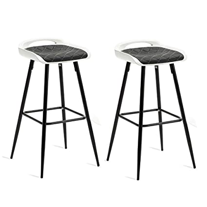 Amazon.com: NUBAO Taburete de bar, silla de bar, sillón de ...