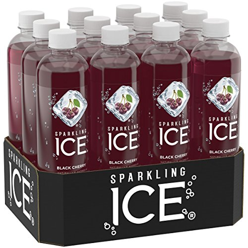 Sparkling Ice Black Cherry, 17 Ounce Bottles (Pack of 12)