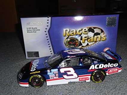 1996 Dale Earnhardt Sr #3 AC Delco Suzuka Japan Color Chrome Colorchrome Paint Scheme Monte