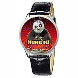 LCW041-2 New Kung Fu Panda Stainless Wristwatch Wrist Watch