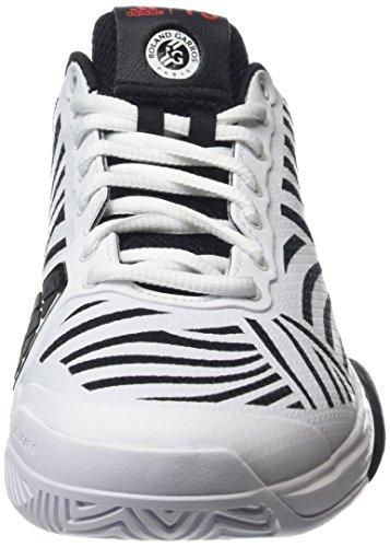 adidas Herren Barricade 2016 Boos Tennisschuhe Mehrfarbig (Core Black/Ftwr White/Ftwr White)