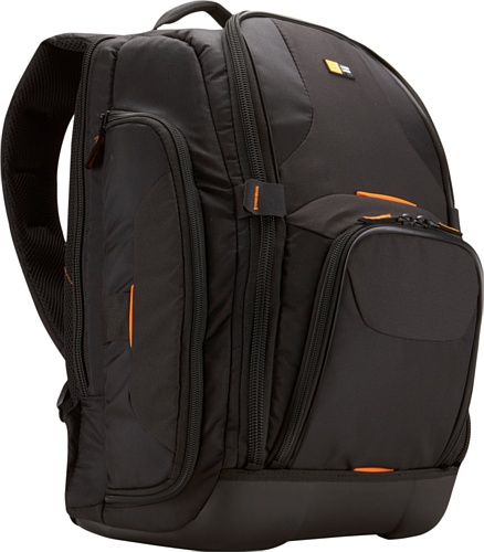 (Case Logic SLRC-206 SLR Camera and 15.4-Inch Laptop Backpack (Black))