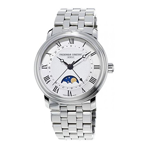 Frederique Constant Geneve Classics Moonphase FC-330MC4P6B Automatic Mens Watch Swiss Made