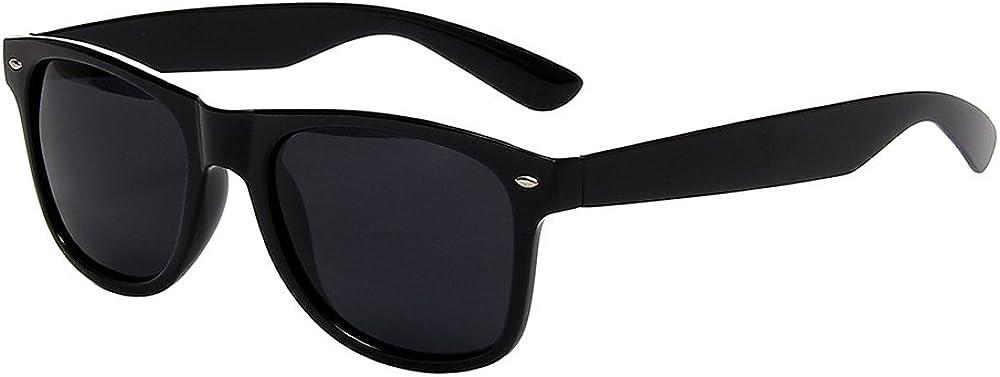 Shiratori Classic 80's Vintage Style Design Polarized Sunglasses