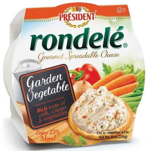 rondele-gourmet-garden-vegetable-cheese-spread-8-ounce-12-per-case