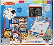 Melissa & Doug PAW Patrol Wooden Double-Sided Tabletop Art Center Easel (33 Pie