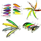 Maoko Minnows Lure for Trout,Bass,Panfish and Walleyes 23Styles