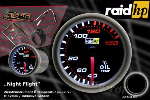 Raid HP 660242 Night Flight Indicatore della temperatura dellolio