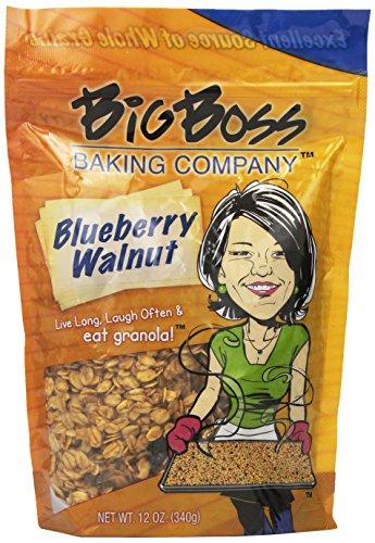 (Big Boss Baking Company Granola, Blueberry Walnut, 12 Ounce)