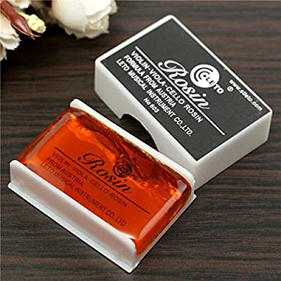 SICA Light Bow Rosin Resin For Violin Viola Cello Strings Orchestral Accessories: Toys & Games