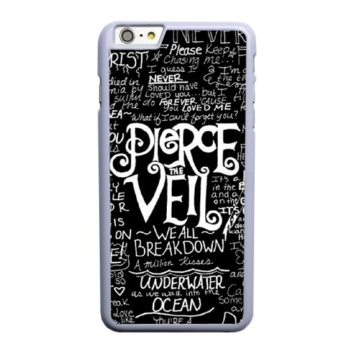 Coque,Apple Coque iphone 6 6S (4.7 pouce) Case Coque, Generic Pop Pierce The Veil Cover Case Cover for Coque iphone 6 6S (4.7 pouce) blanc Hard Plastic Phone Case Cover