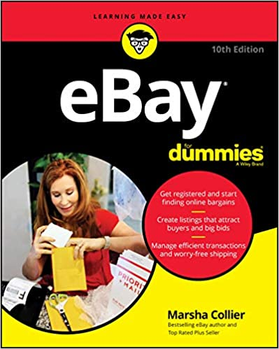 Ebay For Dummies Updated For 2020 For Dummies Computer Tech Collier Marsha 9781119617747 Amazon Com Books