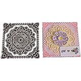Vanvler Die Cuts for Card Making Scrapbooking Diy Metal Stencils Album Craft (I Flower)