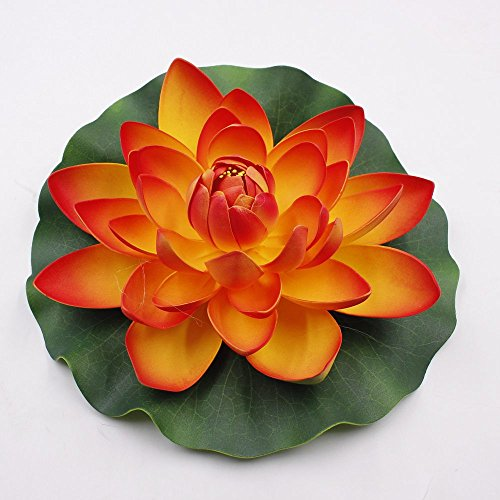 Lotus-flowers-3pcslot-18cm-Artificial-PE-Foam-Water-Lily-Floating-Pool-Plants-DIY-party-festival-Home-Decor-Wedding-Decoration-Decoration-Flower-red