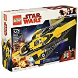 LEGO Star Wars: The Clone Wars Anakin's Jedi Starfighter 75214 Building Kit (247 Piece)