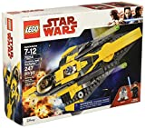 LEGO Star Wars: The Clone Wars Anakin's Jedi Starfighter 75214 Building Kit (247 Piece)