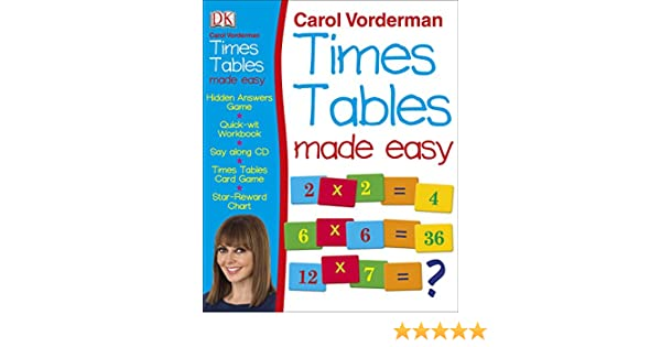 Carol Vorderman's Times Tables Made Easy: Carol Vorderman ...