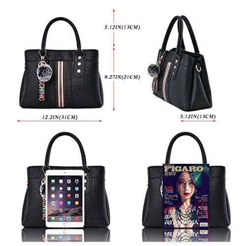 LoZoDo Womens Purses and Handbags Shoulder Bags Satchel Messenger Ladies Designer Tote Bag by LoZoDo (Image #4)